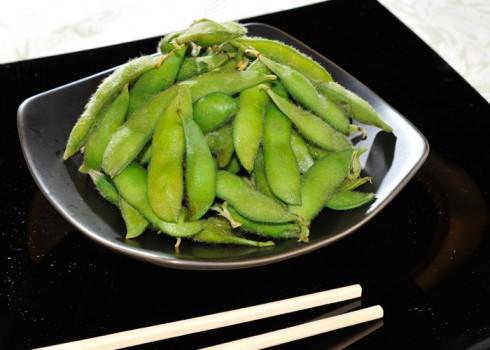 Antipasto - Edaname. Fagioli di soia giapponese