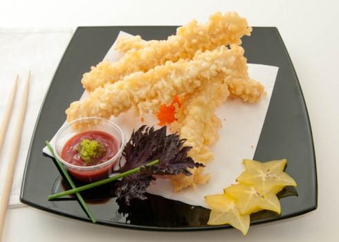 Antipasto - Samurai stick. Spring roll di pesce