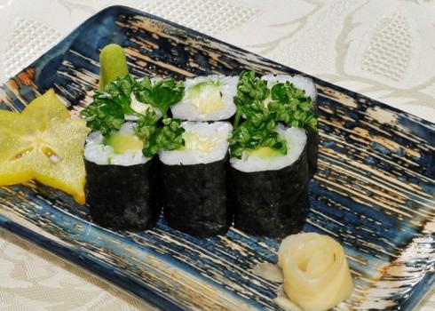 Hosomaki - Avocado maki - Riso e avocado