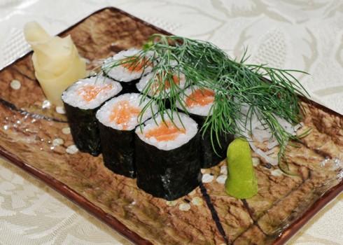 Hosomaki sake maki - Riso e salmone