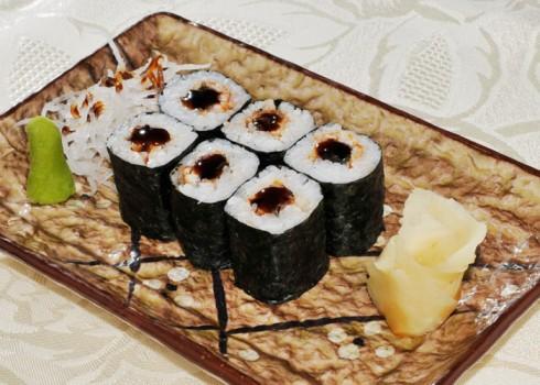 Hosomaki - Unagi maki - Riso e anguilla