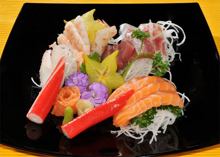 Sashimi - Filetti misti di pesce crudo