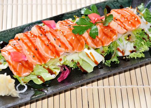 sake tataki 8 filetti di salmone scottato