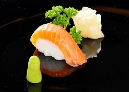 Sushi Nigiri Sake - Nigiri di salmone