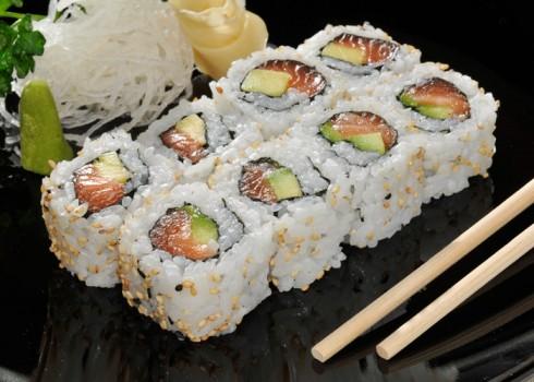 URA SAKE - Riso, salmone e avocado