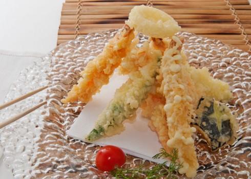 YASAI TEMPURA - Verdure miste fritte con pastella leggera